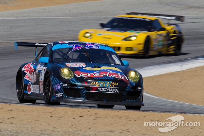 #66 TRG Porsche 911 GT3 Cup: Emilio Di Guida, Jeroen Bleekemolen