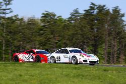 #59 Brumos Racing Porsche GT3: Andrew Davis, Leh Keen - #69 Aim Autosport Team Fxdd Racing With Ferrari 458: Emil Assentato, Jeff Segal