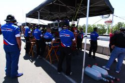 Action Express Racing pits