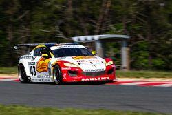 #43 Team Sahlen TheRaceSite.Com Mazda Rx-8: Joe Nonnamaker, Will Nonnamaker
