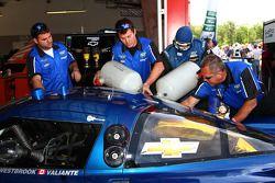 #90 Spirit of Daytona in de garage
