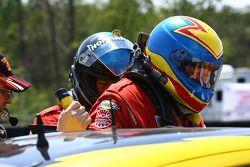 Rijderswissel #43 Team Sahlen TheRaceSite.Com Mazda Rx-8: Joe Nonnamaker, Will Nonnamaker