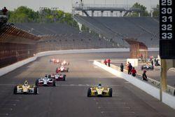 Ryan Hunter-Reay, Andretti Autosport Chevrolet y Ana Beatriz, Andretti Autosport/Conquest Racing Che