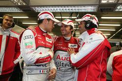 Loic Duval, Marco Bonanomi and Marc Gene