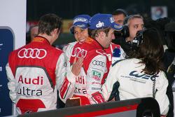 Marc Gene, Romain Dumas and Loic Duval
