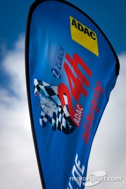 Signage for the 24 Hours of the Nürburgring