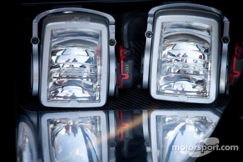 H R Spezialfedern Ford Gt Headlights Detail