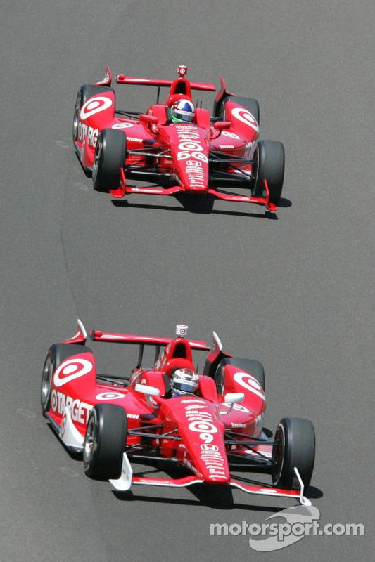 Dario Franchitti, Target Chip Ganassi Racing Honda, Scott Dixon, Target Chip Ganassi Racing Honda
