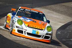 #72 Porsche 911 GT4: Jörg Viebahn, Anders Buchardt, Peter Posavac
