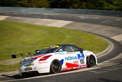 #100 Team Peugeot RCZ Nokia: Julien Rueflin, Guillaume Roman, Paul Englert