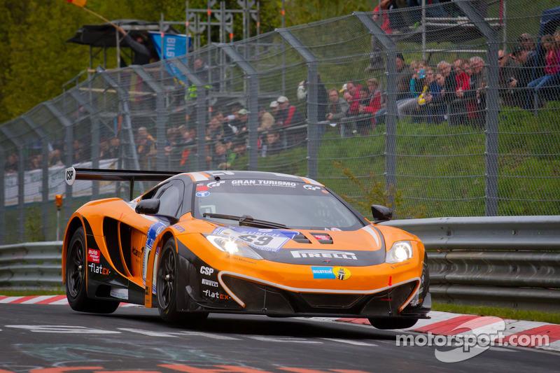 2012 - Encurance McLaren - 24 Horas de Nurburgring