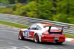 #43 Porsche 997 GT3: Johannes Kirchhoff, Elmar Grimm, Gustav Edelhoff