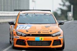#131 mathilda racing Team JP-Performance Volkswagen Scirocco: Michael Paatz, Jean-Pierre Kraemer, Fa