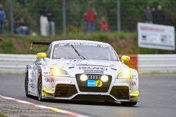 #110 Raeder Motorsport Audi TT RS: Heinz Schmersal, Patrik Kaiser, Thomas Sluis
