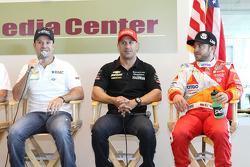 Rubens Barrichello, Tony Kanaan, E.J. Viso, KV Racing Technology