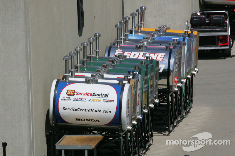 Race day fuel tanks