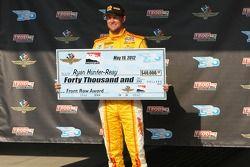 EL tercero más rapido Ryan Hunter-Reay, Andretti Autosport Chevrolet