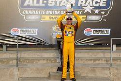 Polepositie Kyle Busch, Joe Gibbs Racing Toyota