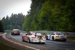 #14 Manthey Racing Porsche 911 GT3 Cup: Frank Kräling, Marc Gindorf, Peter Scharmach, Marco Schelp,