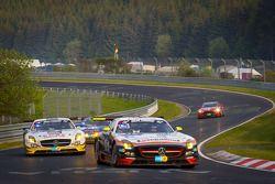 #65 Hankook-Team Heico Mercedes-Benz SLS AMG GT3: Bernd Schneider, Lance David Arnold, Alexandros Ma