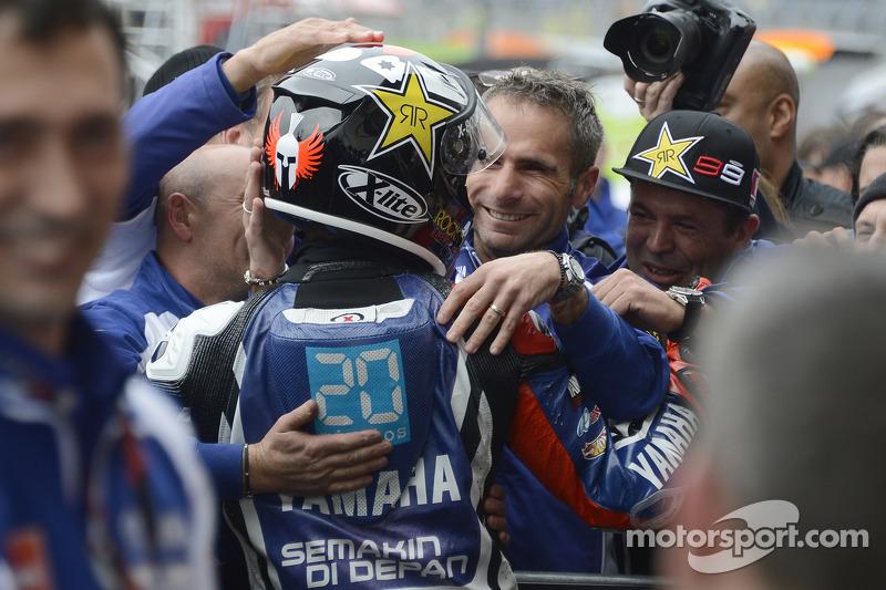 Jorge Lorenzo, Yamaha Factory Racing , vainqueur de la course