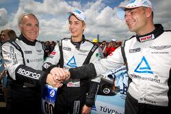 Ulrich Bez, Ferdinand Stuck en Dennis Rostek