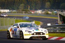 #60 Aston Martin Vantage GT4: Vic Rice, Shane Lewis, Karl Pflanz, Kim Hauschild