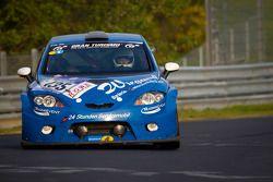 #135 Team Mathol Racing e.V. Seat Leon Supercopa: Jörg Kittelmann, Klaus Müller, Jörg Wilhelm