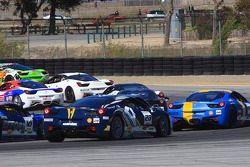 Race start #28 Ferrari of Beverly Hills Ferrari 458 Challenge: Jon Becker