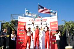 Race winnaar en podium #2 Ferrari of Ft. Lauderdale Ferrari 458 Challenge: Alex Popow