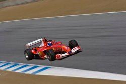 Marc Gene in Bud Moeller's Ferrari F2003-GA F1
