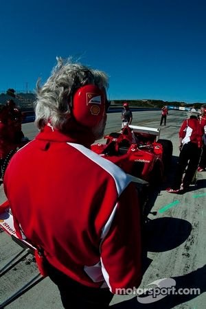Bud Moeller Ferrari F2003-GA Formula 1