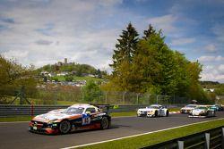 Formatieronde: #65 Hankook-Team Heico Mercedes-Benz SLS AMG GT3: Bernd Schneider, Lance David Arnold