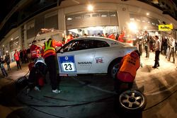 Pitstop #23 Team Nissan GT-R Nissan GT-R: Toshio Suzuki, Tetsuya Tanaka, Kazuki Hoshino, Michael Kru