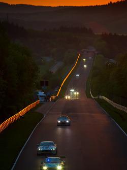 Zonsopgang over Döttinger Höhe