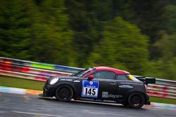 #145 s.i.g. Motorsport MINI Cooper S JCW: Ingo Gaupp, Friedhelm Erlebach, Jürgen Bretschneider