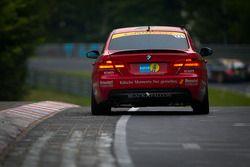 #221 Black Falcon Team TMD Friction BMW E92: Christian Raubach, Christian von Rieff, Tim Scheerbarth