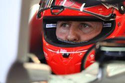 Михаэль Шумахер. ГП Монако, Вторая тренировка в четверг.