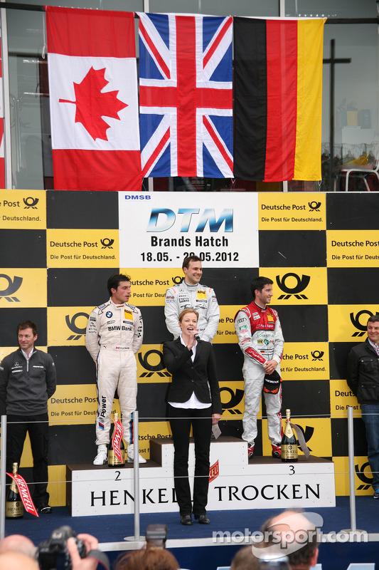 Gary Paffett, Team HWA AMG Mercedes, AMG Mercedes C-Coupe; Bruno Spengler, BMW Team Schnitzer, BMW M