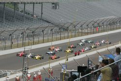 Firestone Indy Lights cars come to the yard of bricks