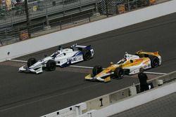 Katherine Legge, Dragon Racing Chevrolet y Ryan Hunter-Reay, Andretti Autosport Chevrolet