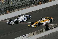 Katherine Legge, Dragon Racing Chevrolet y Ryan Hunter-Reay, Andretti Autosport Chevrolet