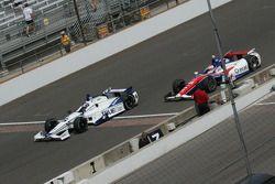 Katherine Legge, Dragon Racing Chevrolet y Wade Cunningham, A.J. Foyt Enterprises Honda