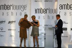 Princess Charlene of Monaco at the Amber Lounge Fashion Show