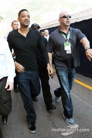 Will Smith, acteur in de paddock