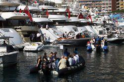 Boten in de haven
