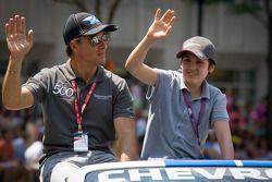 Indy 500 festival parade: Jean Alesi, FP Journe – Fan Force United Lotus