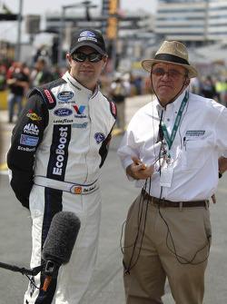 Ricky Stenhouse Jr. en Jack Roush