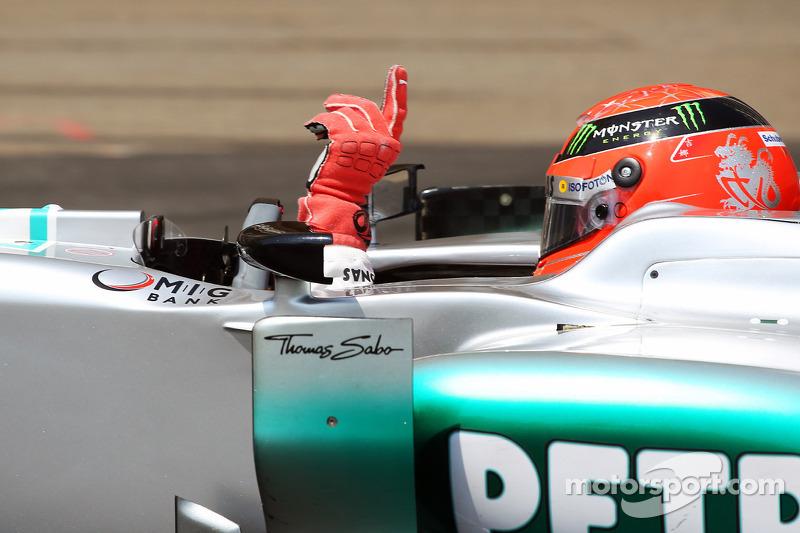 La que fue, pero no subió por sanción: Mónaco 2012, Mercedes F1 W03