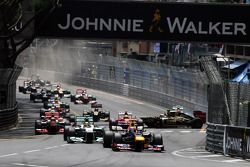 Марк Уэббер. ГП Монако, Воскресная гонка.